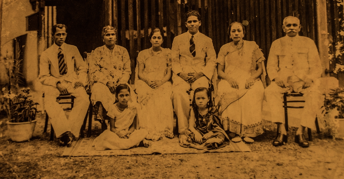'Meeting my Great Grandparents for the first time' by Amrita Chandradas