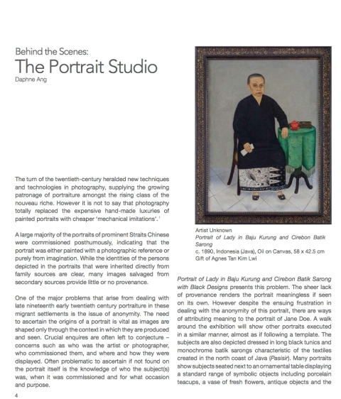 The Portrait Studio by Daphne Ang