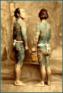 05 THE TATTOOED MEN of OLD JAPAN