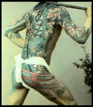 11 THE JAPANESE TATTOO -- Art & Artifice in 19th Century Hand Colored Photographs (3)