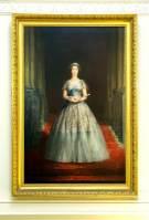 John Napper's portrait of Queen Elizabeth II was considered so unflattering that it was hidden from display.