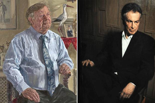 Former prime minister Tony Blair was painted in 2008 by Phil Hale for £6,000. A portrait of Kenneth Clarke, QC, MP, by James Lloyd was unveiled on 4 December 2007 in the Attlee Suite, Portcullis House. It was commissioned by the Speakers Advisory Committee on Works of Art.