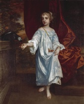 Sir Peter Lely, Girl with a parrot, c. 1670. Oil on canvas. Tate Britain, London.