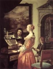 Frans van Mieris the Elder, 1658